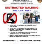 Image for the Tweet beginning: **Community reminder** Please don't walk with