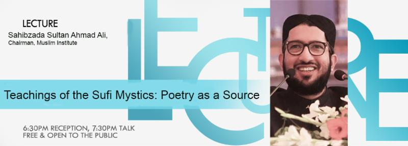 Lecture Series | Teachings of the Sufi Mystics: Poetry as a Source | March 28,2018 conta.cc/2u6XUH8