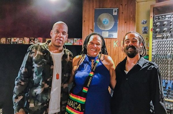 """Sister Nancy calls Jay-Z and Kanyes samples of her iconic song, Bam Bam"""", a blessing. bit.ly/2FPAOtb"""