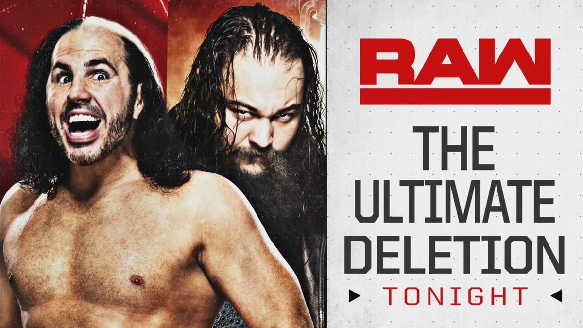 RE-TWEET if youre ready to INDULGE in the INGENIOUS INSANITY of my #BROKENBrilliance on #RAW.. The #UltimateDELETION will change the @WWEUniverse FOREVAH !! Its COMMENCING shortly..