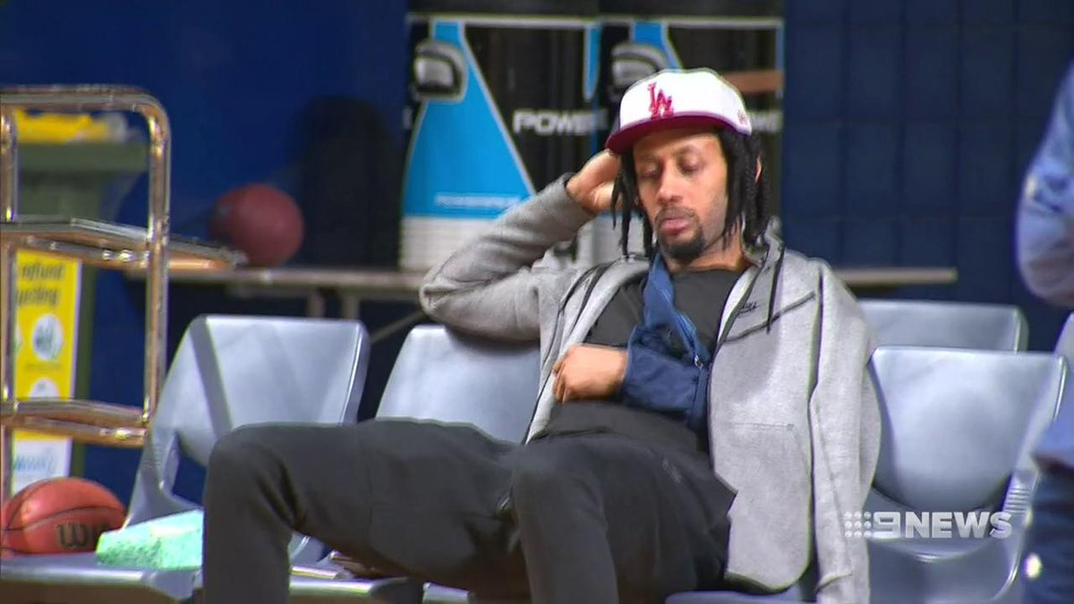 Image for the Tweet beginning: WATCH: @Adelaide36ers coach Joey Wright