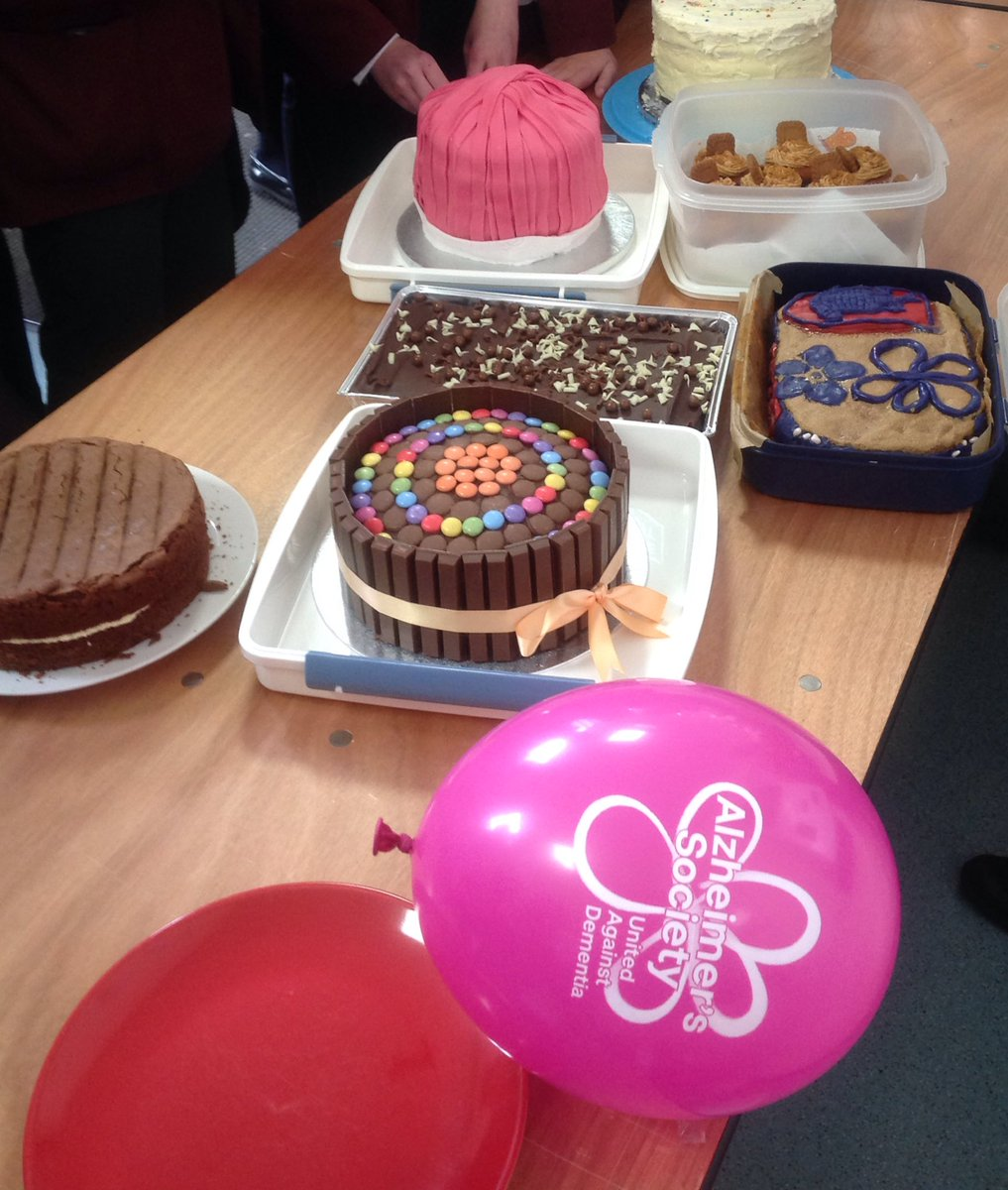 Fantastic cake sale on Friday following...