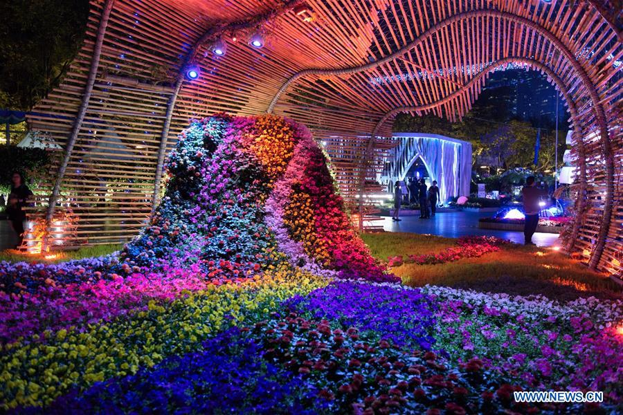 """China Daily on Twitter: """"Flowers are seen during Hong Kong #FlowerShow at Victoria Park in #HK, south China, March 19, 2018. (Photo: Xinhua)… """""""