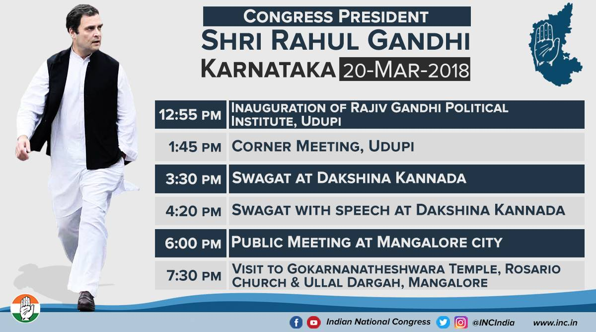 Congress President Rahul Gandhi returns...