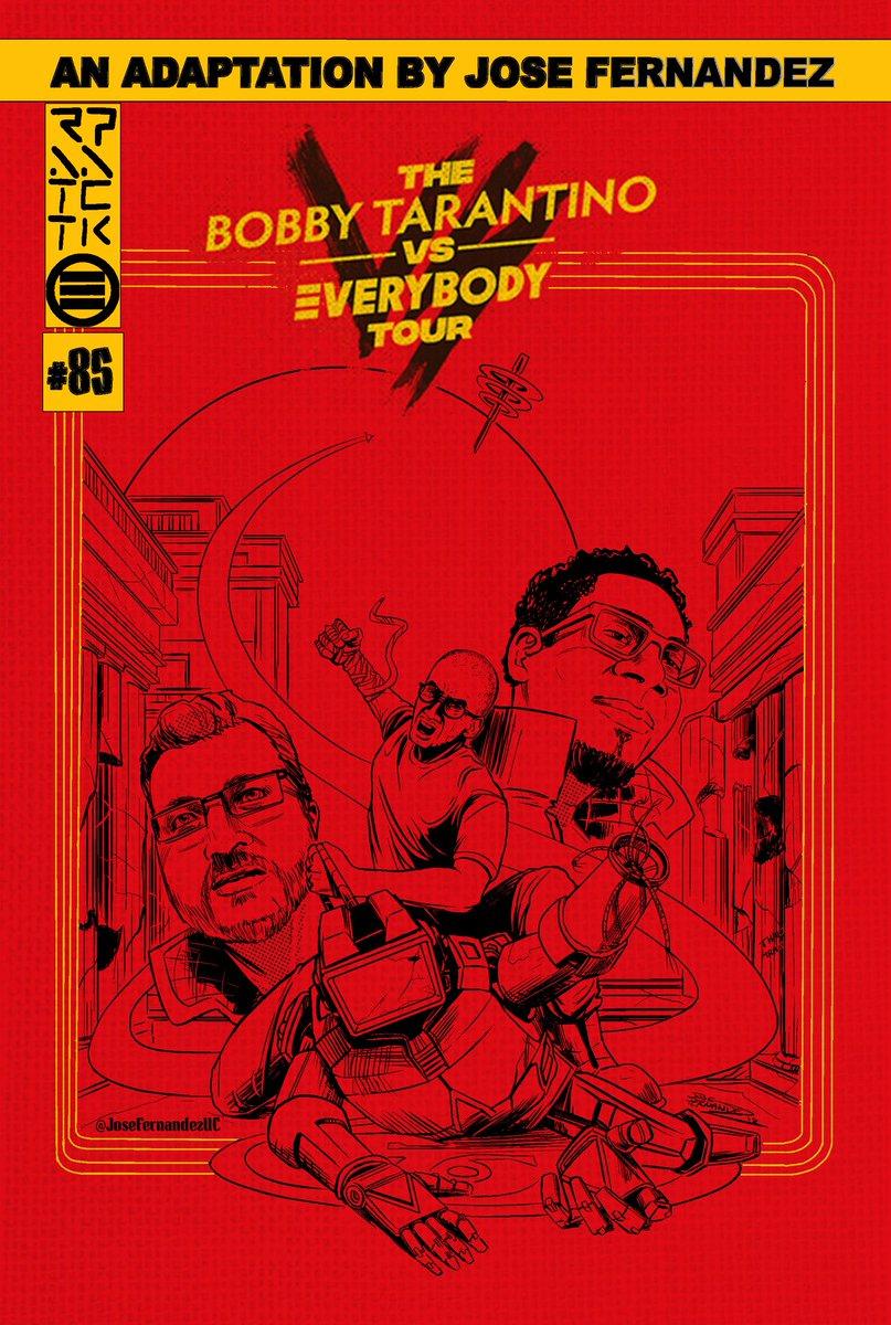Enjoy! #bobbytarantino2 #bobbytarantinovseverybodytour #logic