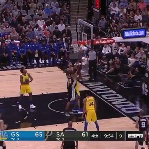 LaMarcus Aldridge scored 19 of his 33 PTS in the 4th quarter to seal the @spurs critical win! #GoSpursGo https://t.co/L3UrJQwHqe