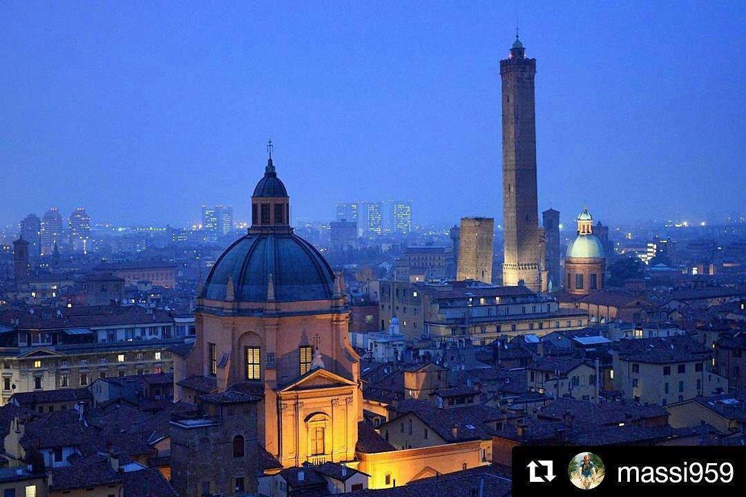 #Buongiorno #italiadasogno Questa mattina di passaggio per #Bologna ! C\