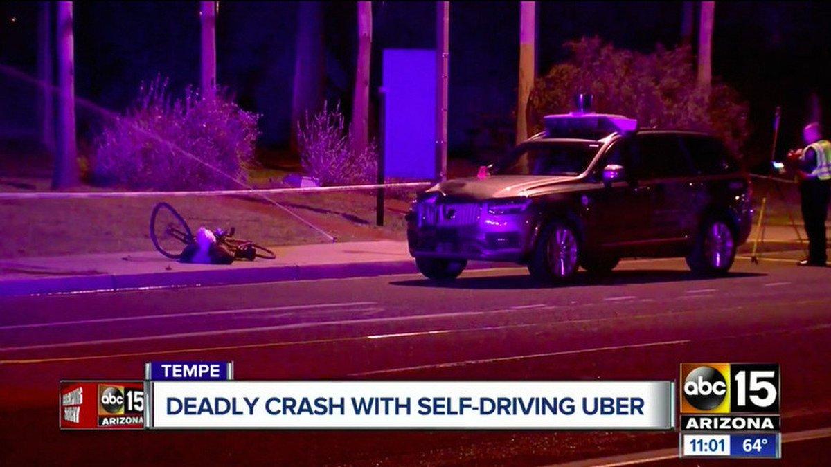 Робот не виноват: беспилотник Uber не мог избежать летального ДТП https://t.co/Ka2ac3OWn7