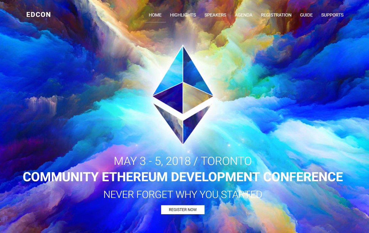 Ethereum Singapore is the community sponsor for EDCON