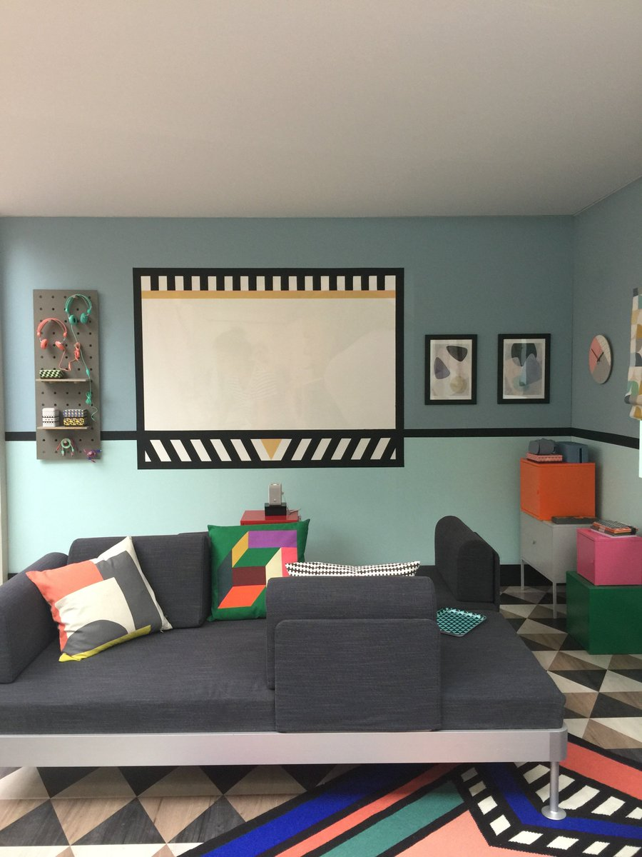 Katrina Burroughs On Twitter Gorgeous Colourful Media Room