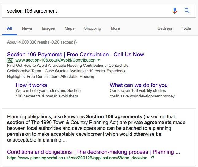 Julian Melamede On Twitter Researching Section 106 Agreements