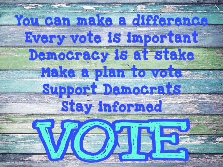 @somethingesau You can #BeTheDifference 🙌 We saw it happen in #PA18! Voting is #YourVoice ; Voting is #YourSuperPower 🌊So get out there and #UseYourPower 🙌🌊🌊🌊🌊🌊🌊🌊🌊