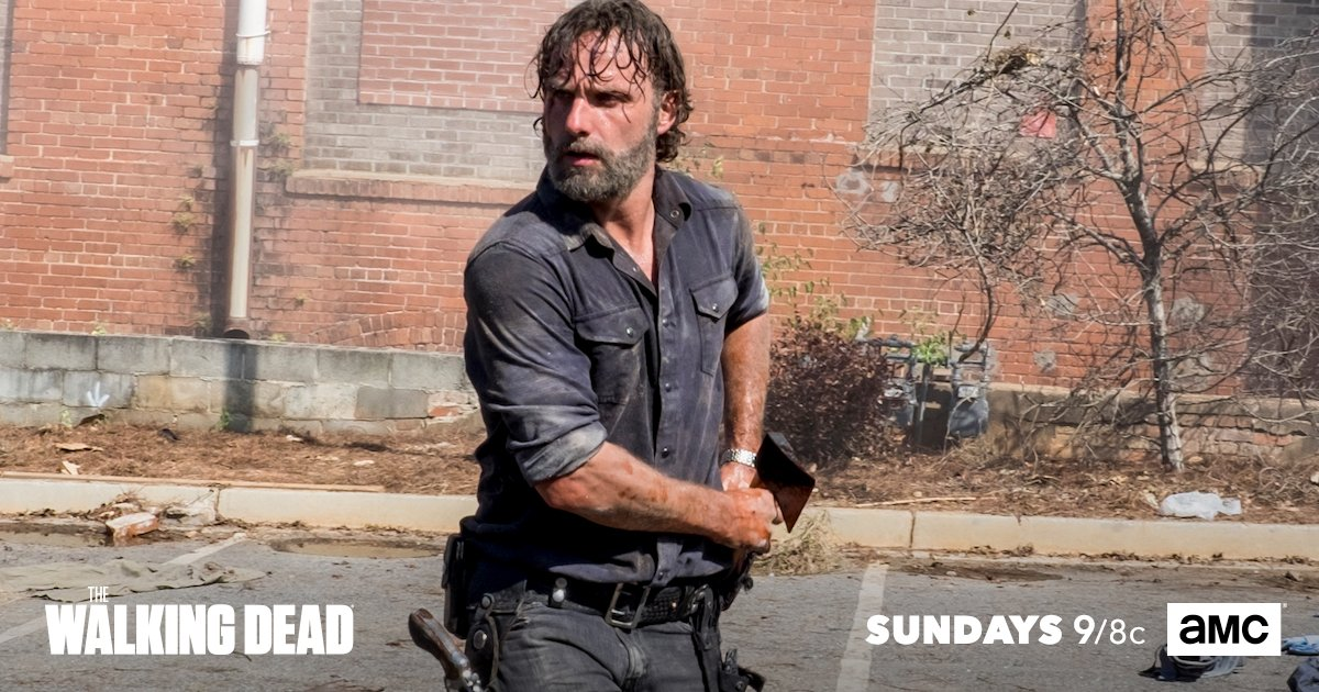 As Rick hunts Negan, see how all hell br...