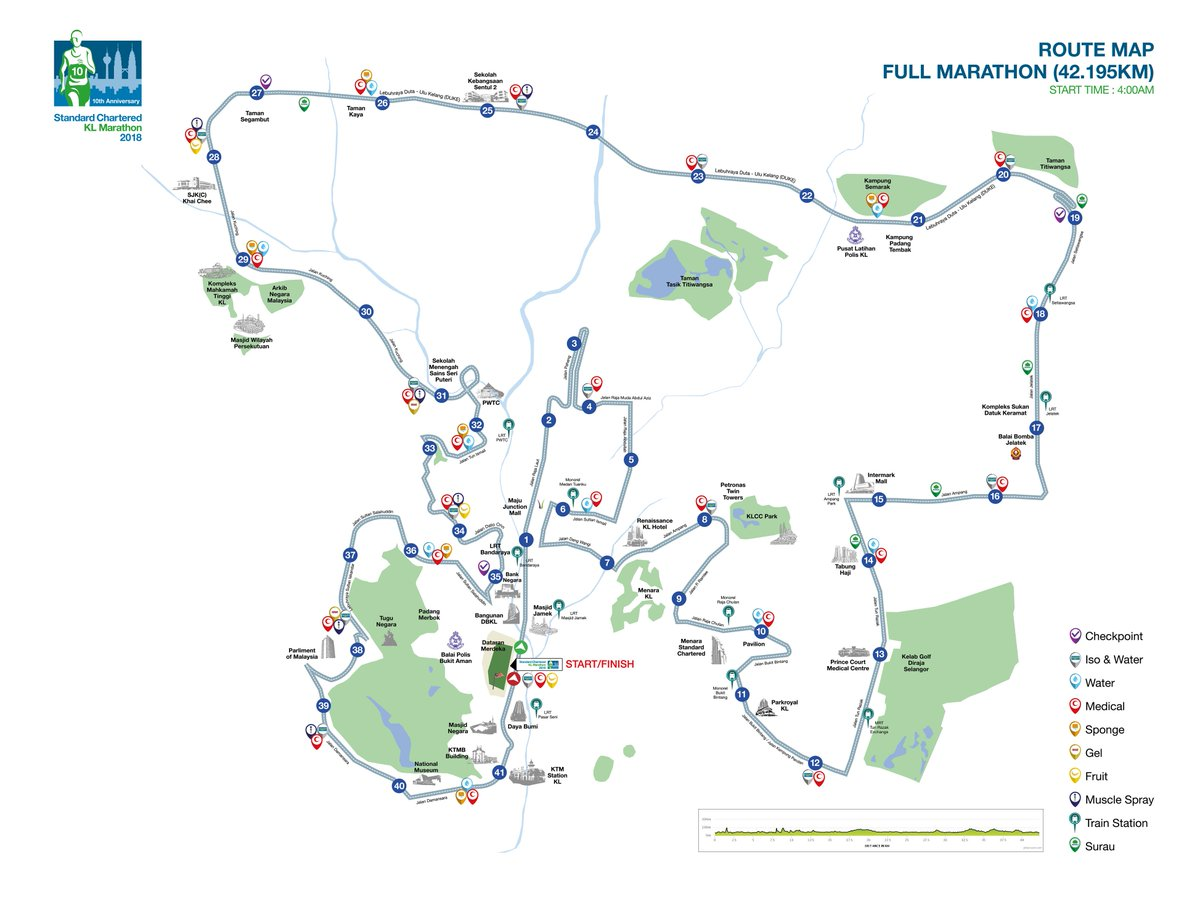 scklmarathon on Twitter The complete route maps are now out Plan