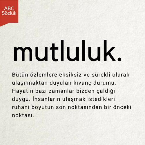 ABC Sözlük's photo on #DünyaMutlulukGünü