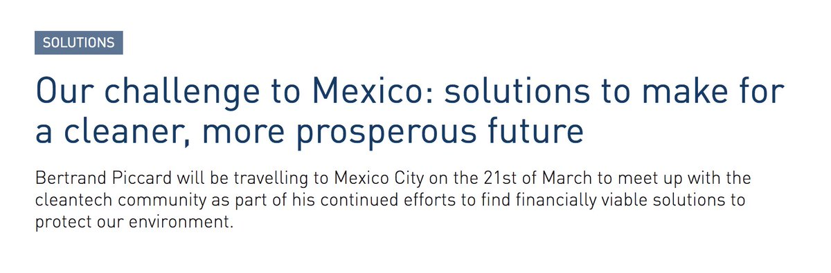 ' @bertrandpiccard will be in #MexicoCity and #CanCun this week. Find out why https://t.co/IkkD6JPpA0