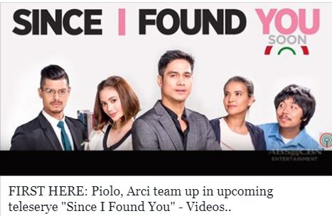 This summer we are turning the heat up! Want to know why? Watch the trailer of Since I Found You starring Piolo Pascual and Arci Muñoz, and directed by Antoinette Jadaone! bit.ly/2FO0c3d