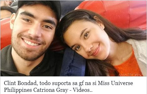 Clint: My Queen. My Everything... Kilalanin ang ASAP Cover Boy na girlfriend ng ating Miss Universe Philippines! bit.ly/2FPtX3y