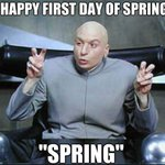 """At 12:15PM, it will officially be """"Spring"""" in the Northern Hemisphere. But let's be honest...#Spring has been cancelled. ❄️😂"""