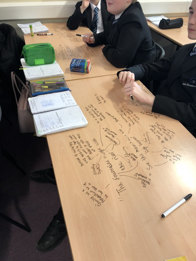 Year 7 unpicking metaphorical language with Mrs Holland- Shelby #engaging #thebest