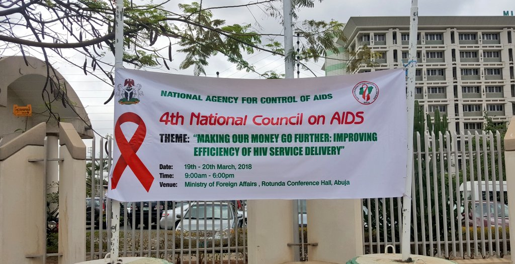 Today we are attending the 4th National Council on AIDS where stakeholders will discuss issues on coordination of all intervention programmes & establishments of minimum standards to end AIDS in Nigeria. Stay with us for updates from !#NCA2018