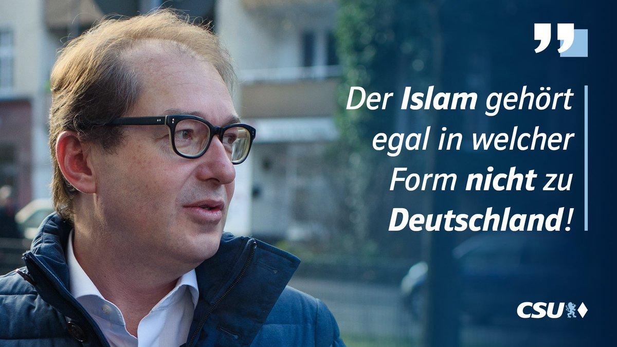 Liebe muslimische Freunde, wie Ihr wisst wurde dieser Mann als Minister entlassen, er trug in Berlin den Spitznamen 'die schwarze Null', und er gehört zu einer winzigen Regionalpartei. Nehmt ihm seine schlechte Laune nicht übel. Er hat nichts zu sagen. https://t.co/JNlRVXKFIE