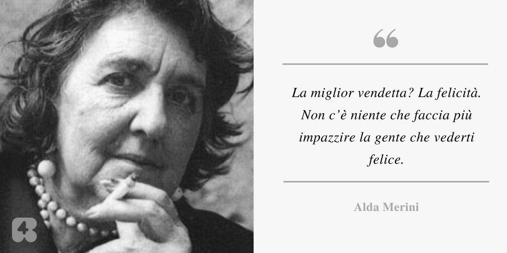 87 anni fa nasceva la grande #AldaMerini...