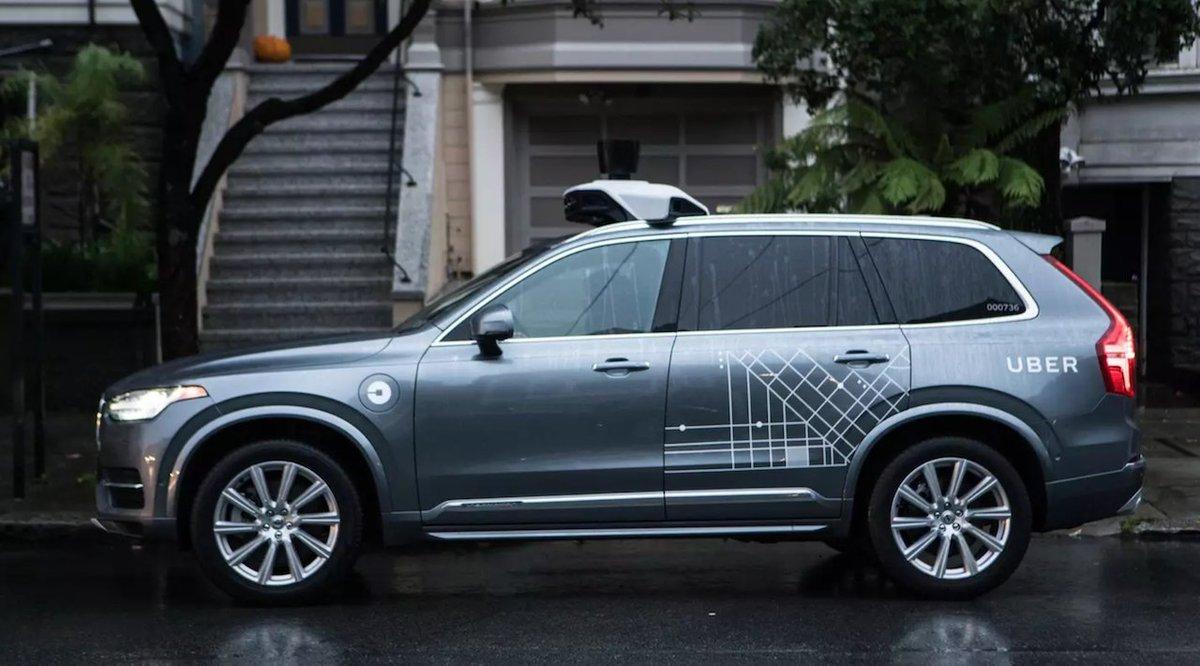 Una nueva actualización en el coche autónomo de Uber le permite deshacerse de un cadáver y darse a la fuga https://t.co/vX7xwiILAc