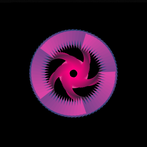 ➤ Edit and animate it on Iterograph https://t.co/XrFU0G1aqc #abstract #geometry #art #proceduralart #iterograph