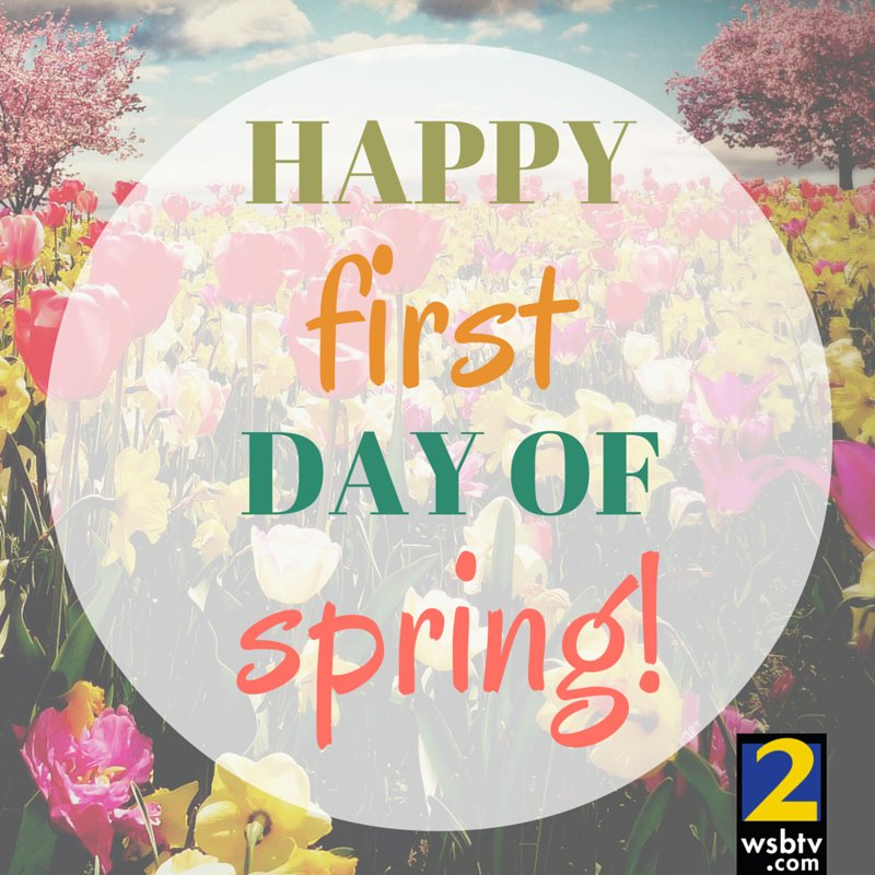 🌻 Happy first day of #spring, everyone! https://t.co/T35eSsfKYv