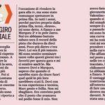 Tutta da leggere - @Petrux9 DIXIT - la nuova rubrica del Petrux su Gazzetta dello Sport. Leggi l'articolo completo sulla nostra pagina FB.