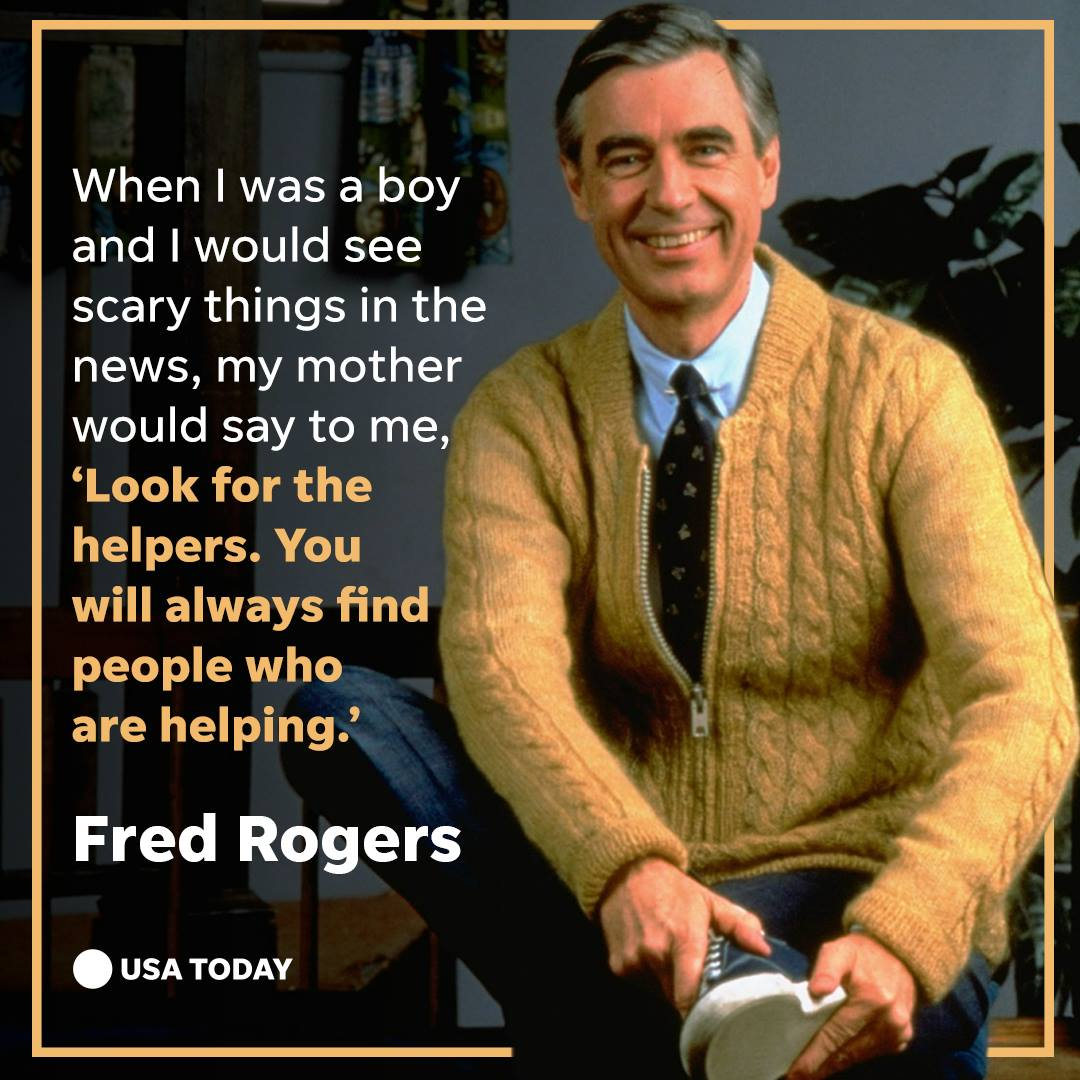 RT @USATODAY: Mr. Rogers would have been 90 years old today. https://t.co/EzmAGeVtjj #TodayinHistory #OTD https://t.co/r0PA2txpxV