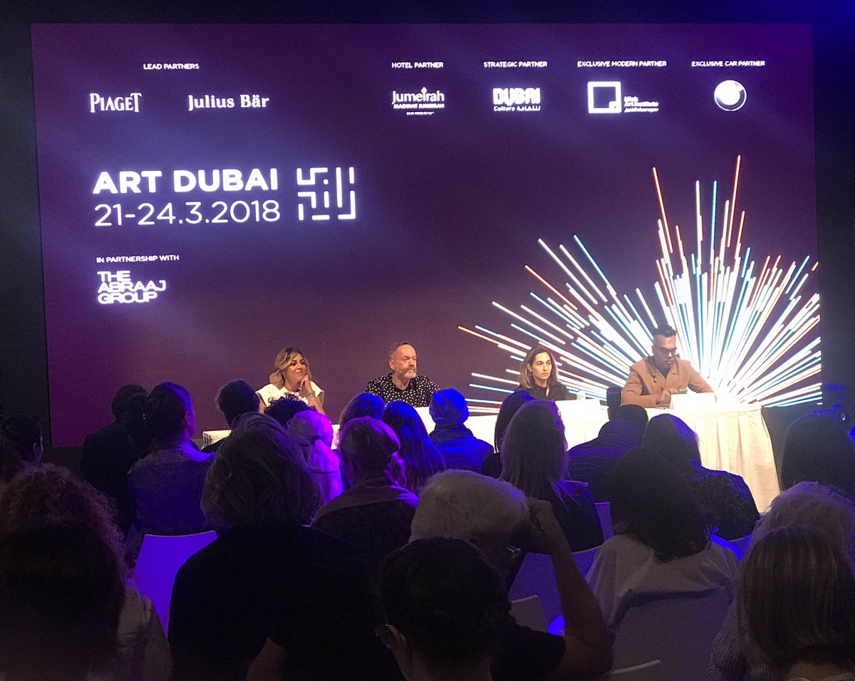 Warm welcome (literally) at #ArtDubai2018 this morning. Worth a visit for inspiration and networking!  #Dubai #UAE #Art<br>http://pic.twitter.com/L2Or4fADXv