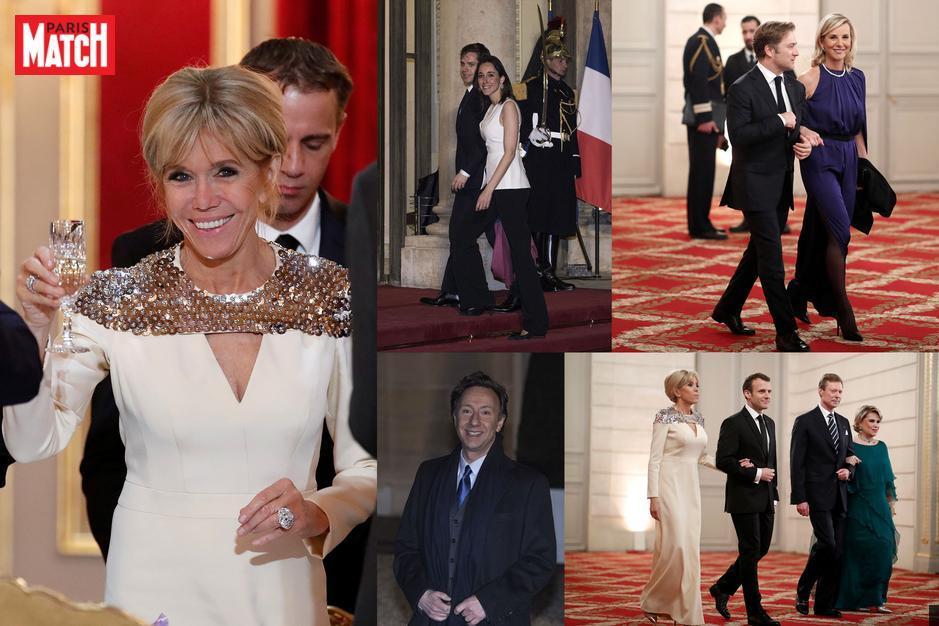 Emmanuel et Brigitte Macron : dîner d'Etat pour Henri et Maria-Teresa de Luxembourg https://t.co/hmZMS07j9S
