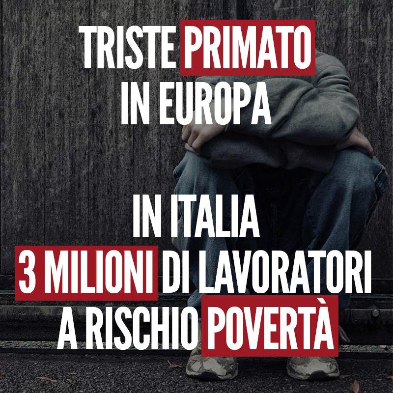 Schiavi moderni. Secondo i dati Eurostat, se lavori otto ore al giorno rischi comunque di essere povero. In questa disumana classifica l\