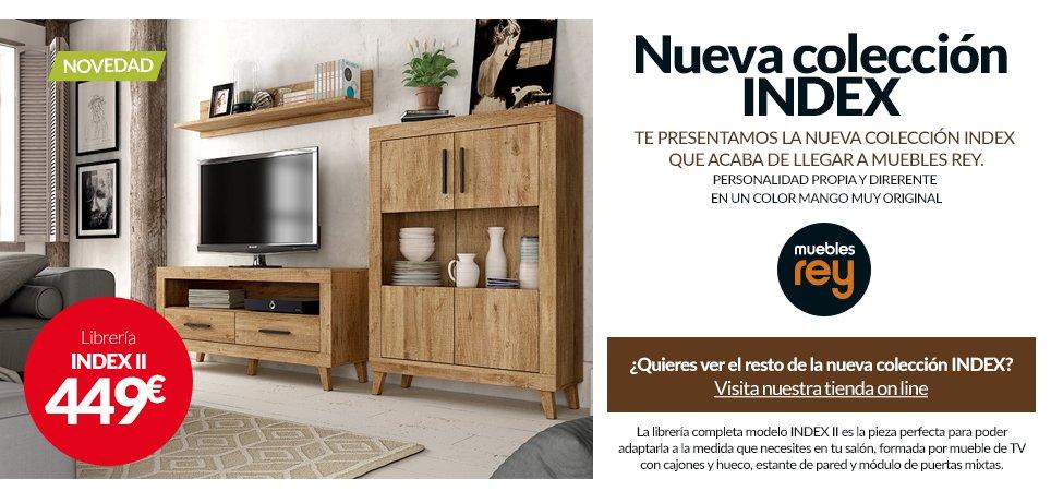 Os Presentamos La Nueva Colección INDEX Que Ha Llegado A Muebles Rey. Una  Colección Con Personalidad Propia Y Diferente En Un Color Mango Muy  Original.