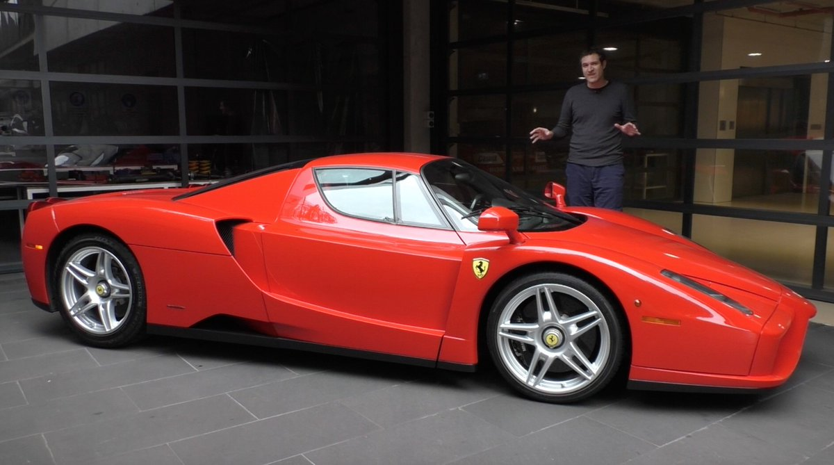 Doug Demuro On Twitter Here S A Tour Of A 3 Million Ferrari Enzo Https T Co Mbow3lokyb