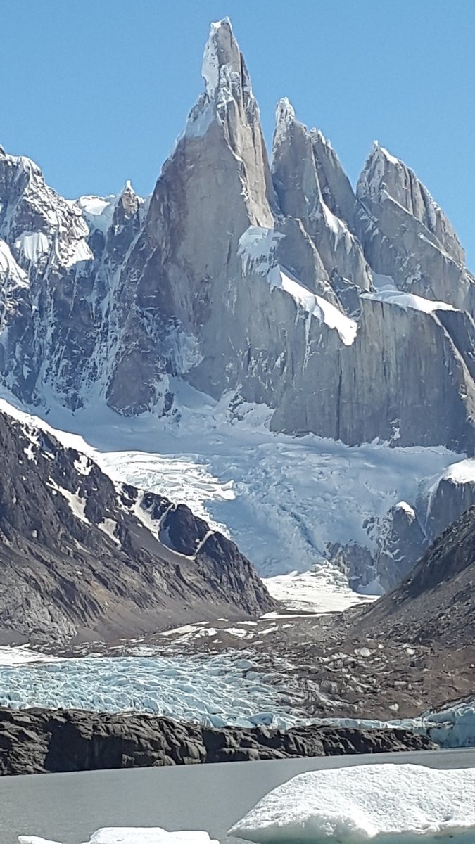 Amazing Mountain Torre & Laguna Torre Glacier at The End of the World