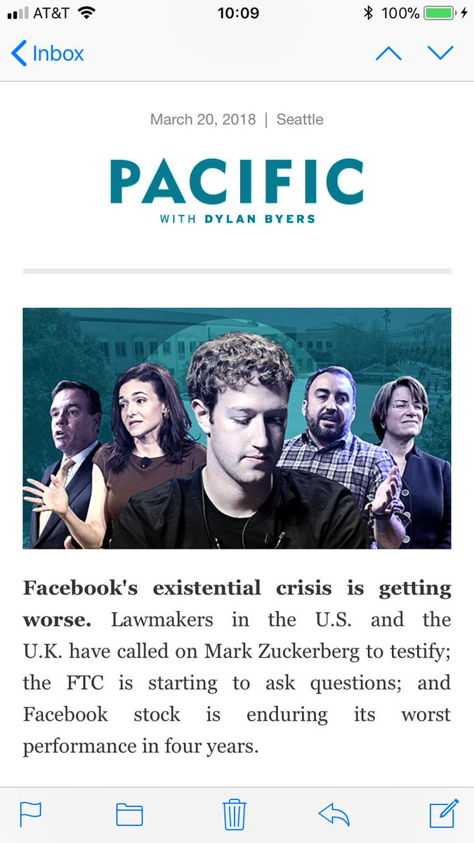Today's PACIFIC: Inside Facebook: What Mark Zuckerberg is thinking, and why he's staying out of the spotlight...
