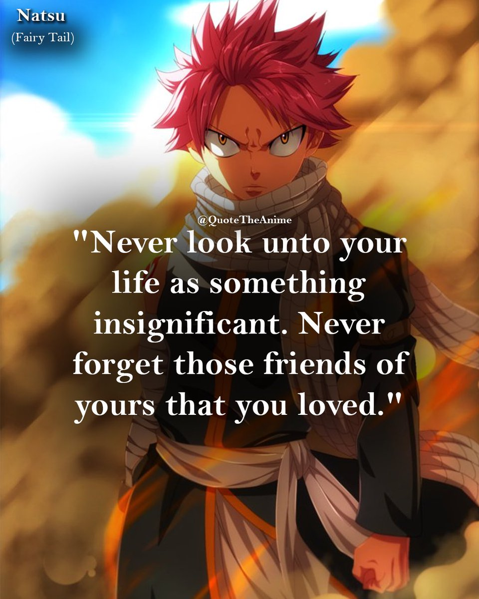 quote the anime on who s your fav character from fairy