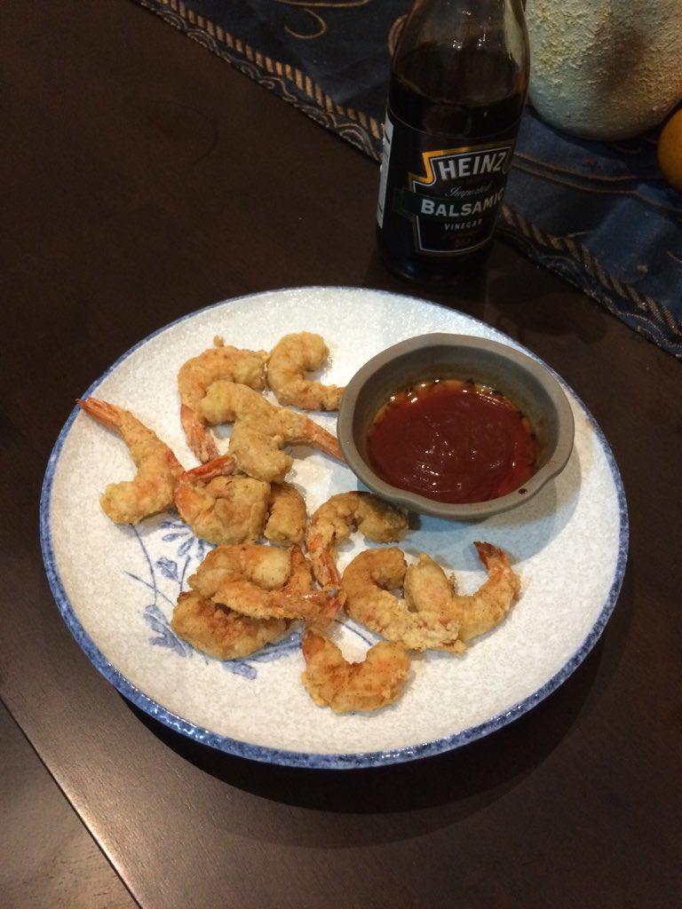Southern fried shrimp ng ina mo 🍤😋 https...