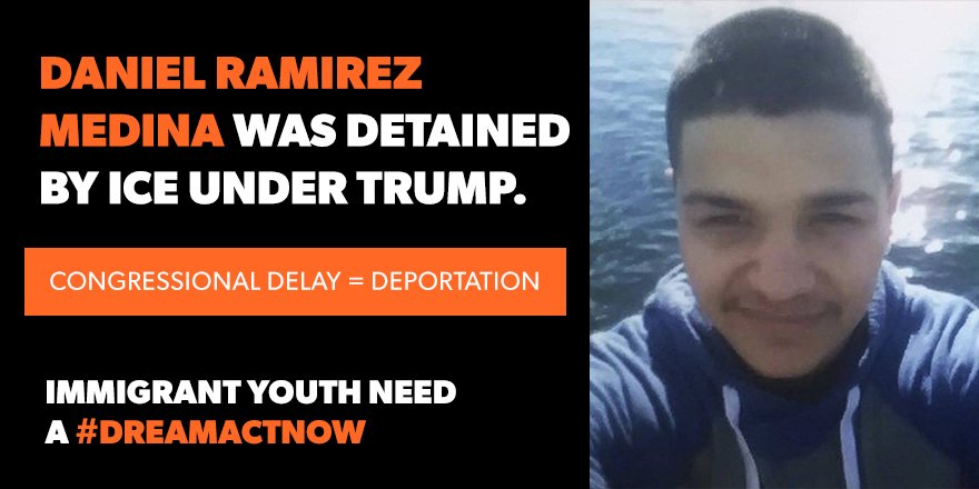 Americans overwhelmingly support immigrant youth & . No#Dreamersw is the call on  to #Congresspass a clean ! CA#DreamActNowLL: (844) 551-6766