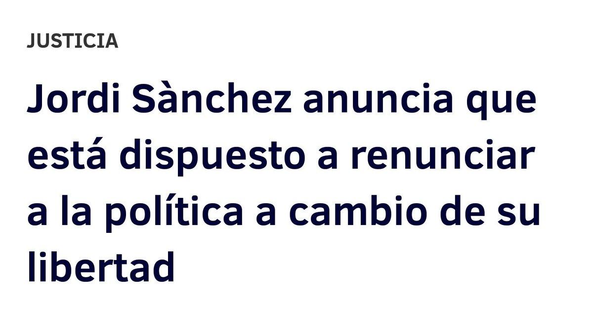 Hoy, en un nuevo capítulo de 'En España no hay presos políticos'...