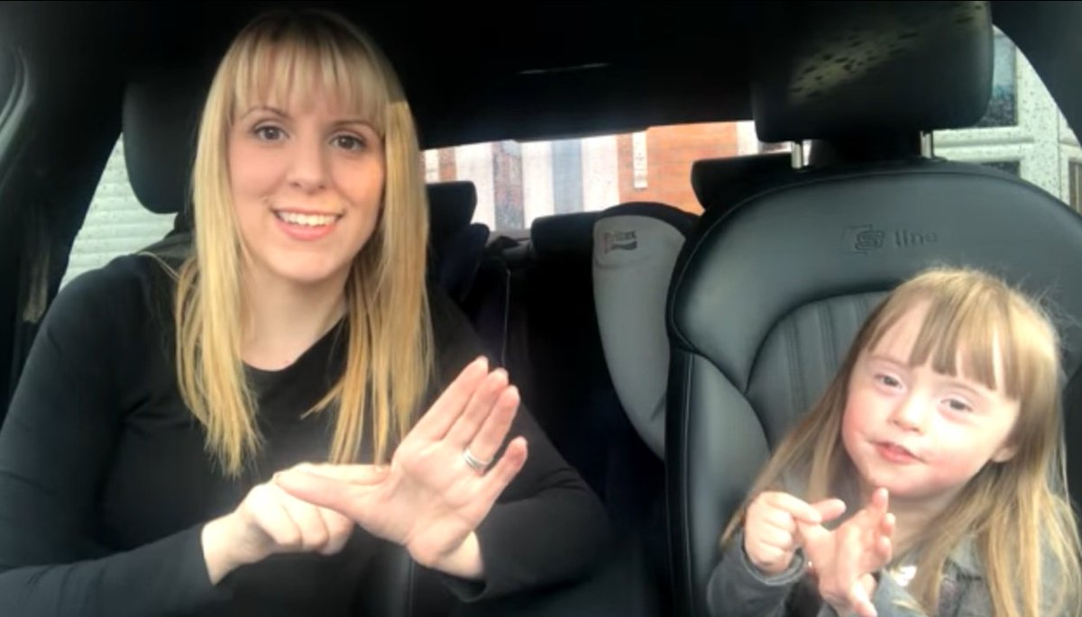 VIDEO: WorldDown'sSyndromeDay clip backe...