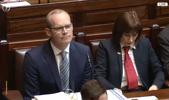TDs are back. Leaders' Questions is just getting under way in the Dáil, with Simon Coveney in the hot seat. #dail
