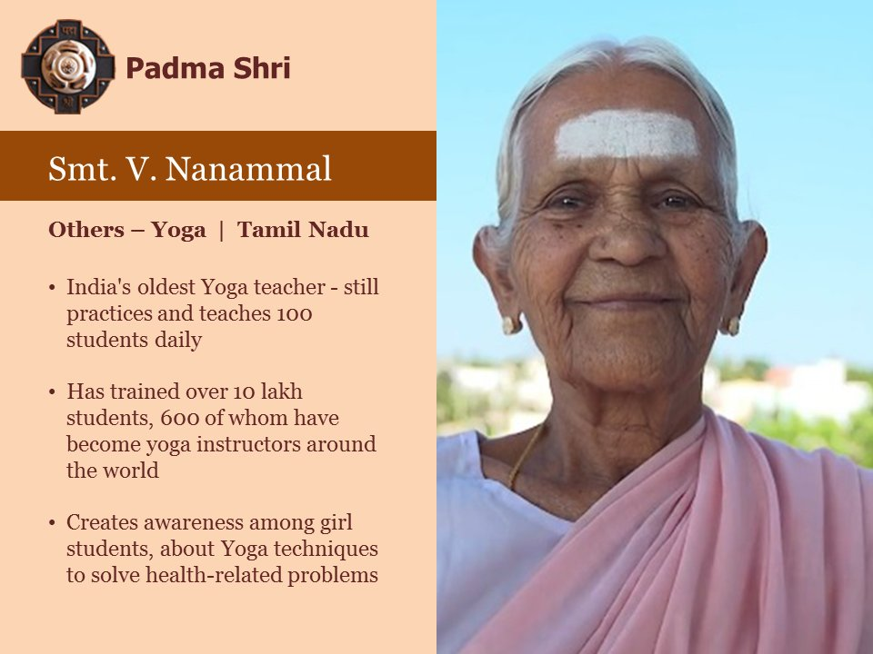 One of India's oldest Yoga teachers. #Pe...
