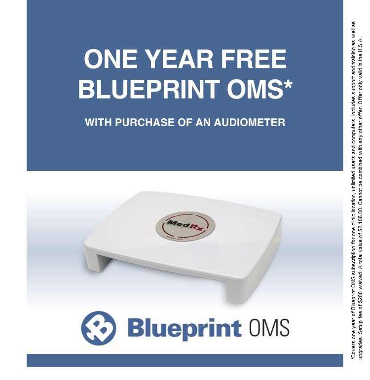 Blueprint solutions blueprintoms twitter get one year of blueprint oms free with the purchase of a medrx audiometer now until the end of march dont miss out call 888 392 1234 today malvernweather Choice Image
