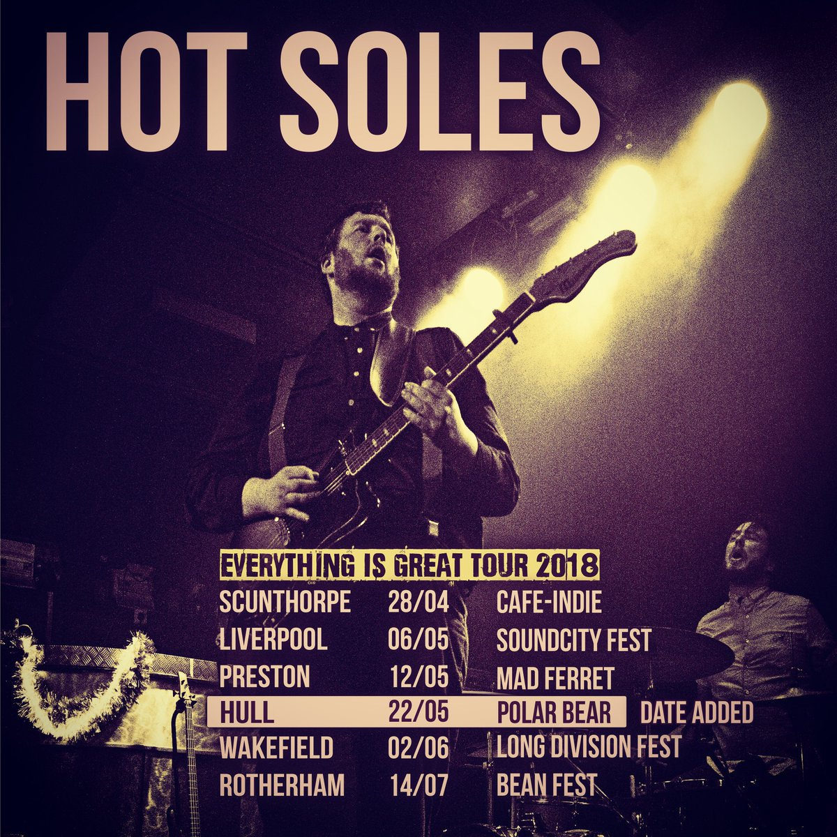New dates added to this bad boy tour!! #...