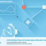 🎓 Our #interdisciplinary #Msc #Physics of Complex Systems introduces and reinforces training in dynamical systems, complex fluids, complex networks and biomechanics. Interested ?  Take a look here 👉 https://t.co/kB64mYp5rz #Education #Science #Marseille
