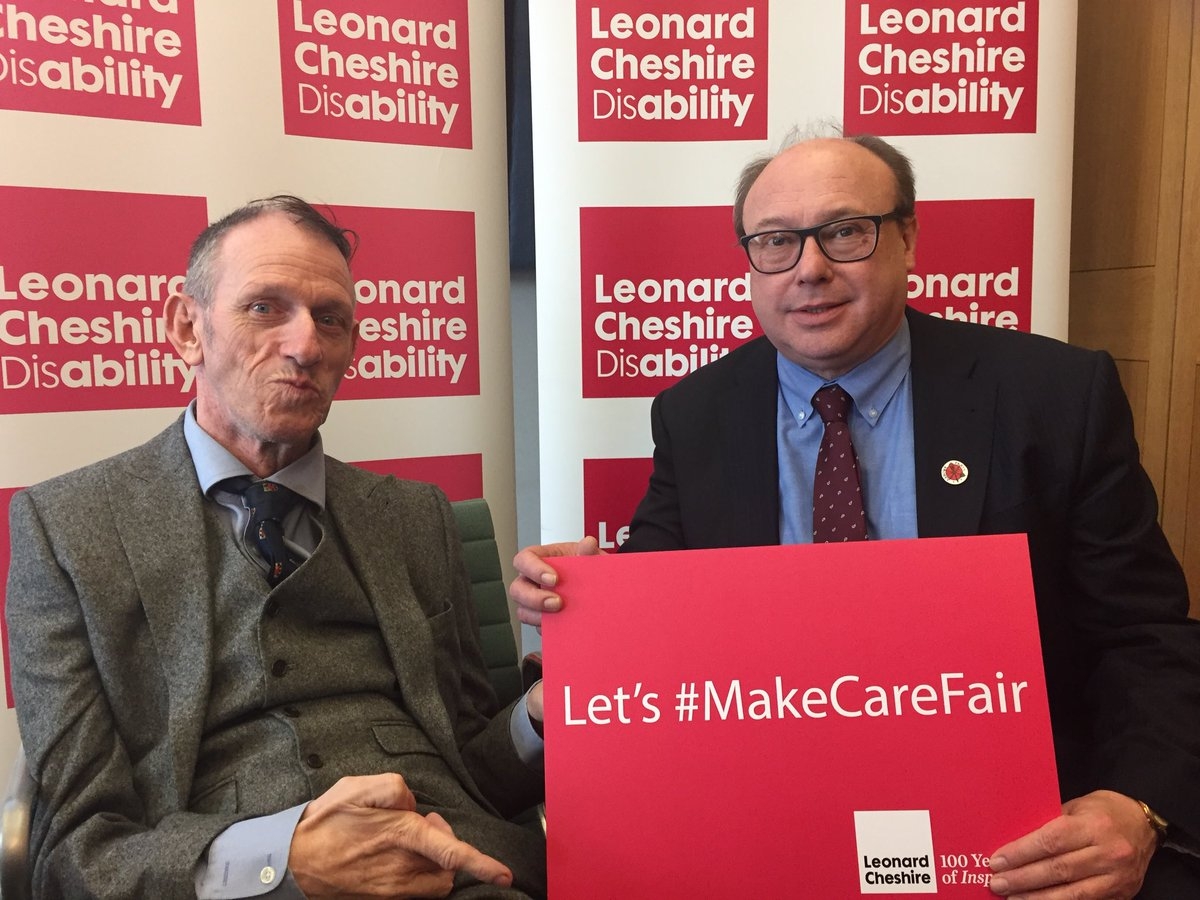 This Government have cut £6billion from #socialcare budget while 15minute care visits are a daily reality for many old and disabled people in England.  Lets #MakeCareFair @LeonardCheshire